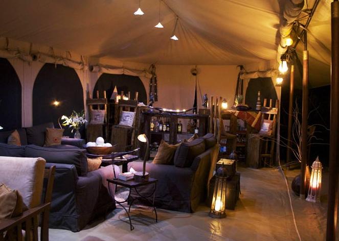 Mara Bush Camp Dining