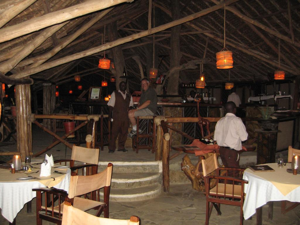 Satao Camp Bar