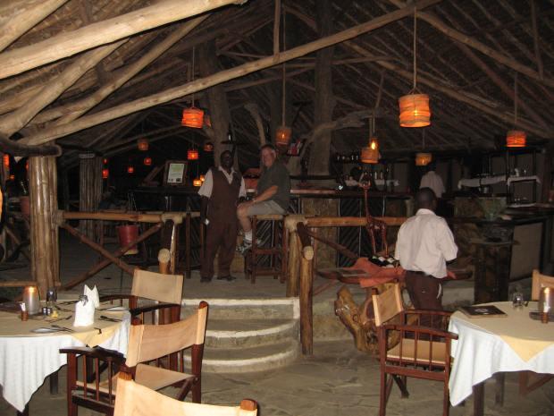 Satao Camp Bar