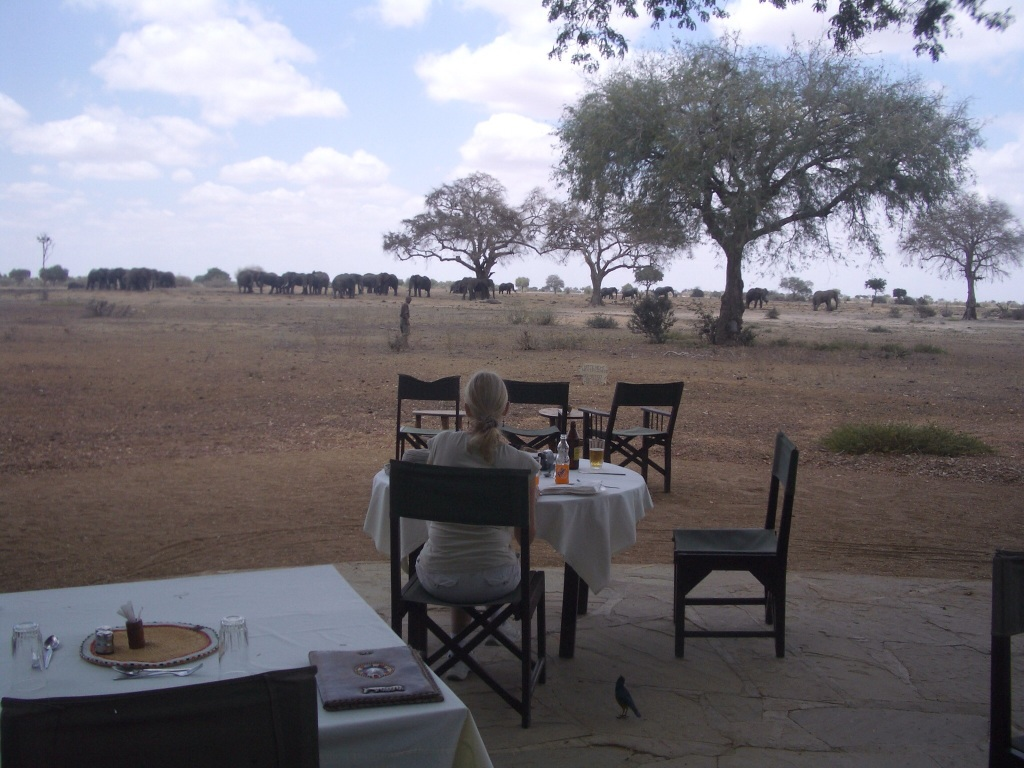 Satao Camp Lunch 2