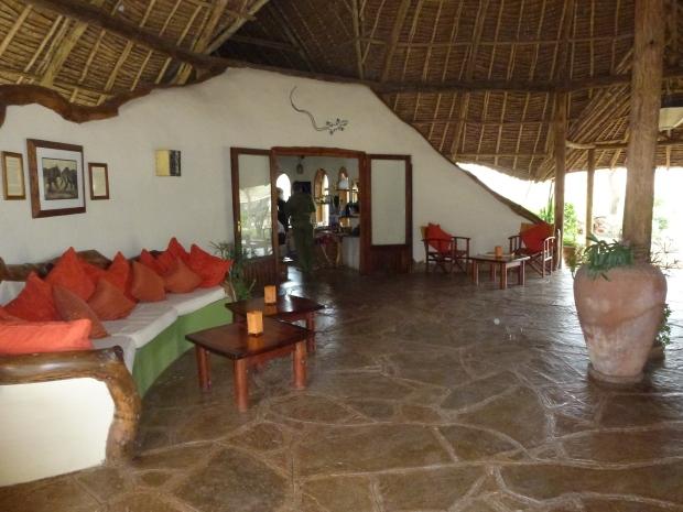 Tortilis Camp reception Amboseli 2