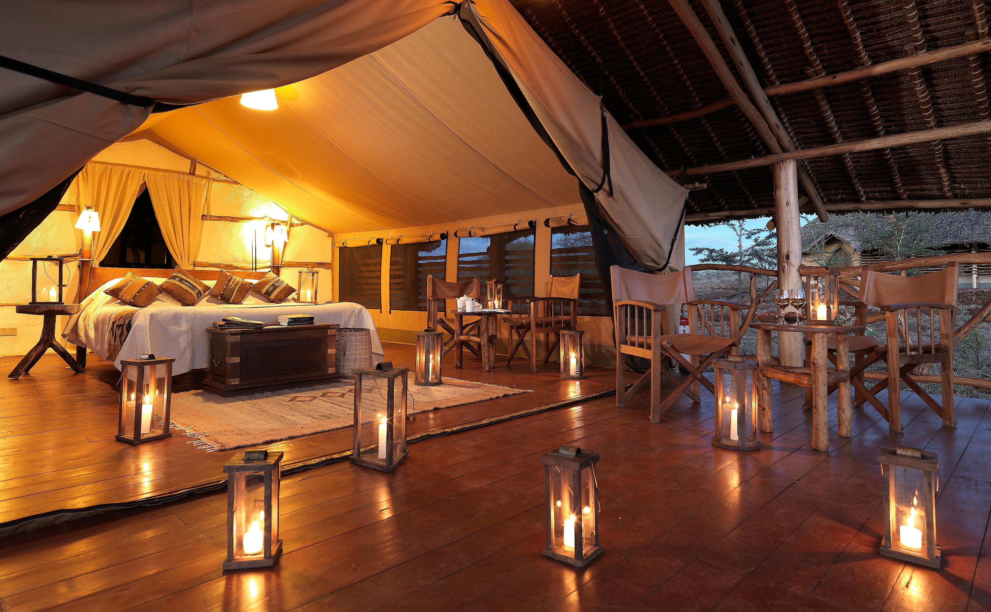 Amboseli Satao Elerai Tented Camp Safari Kenya